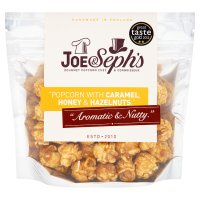 Joe & Seph's caramel, honey & hazelnuts popcorn