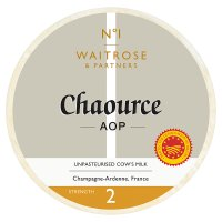 Waitrose 1 chaource cheese, strength 2