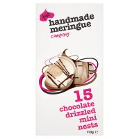 Handmade Meringue Co. mini chocolate nests