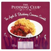 Pudding Club Apple & Blackberry Crumble