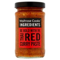 Waitrose Cooks' Ingredients red Thai paste