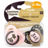 Tommee Tippee Moda Soother 6-18 mon