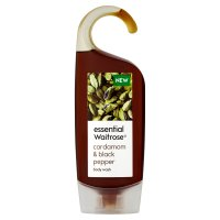 essential Waitrose cardamom body wash