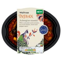 Waitrose Indian aubergine masala