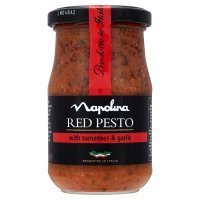 Napolina red pesto with tomatoes & garlic