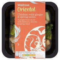 Waitrose chicken with spring onion & ginger