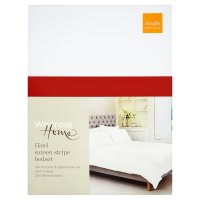 Waitrose Home Sateen Stripe Bedset