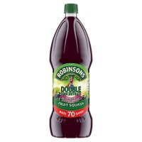 Robinsons apple & blackcurrant, double concentrated