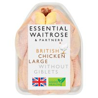 essential Waitrose British Chicken Large