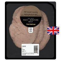 Waitrose hand carved roast Hereford beef