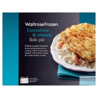 Waitrose Frozen fish pie