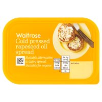 Waitrose Cold Pressed Rapeseed Oil Spread