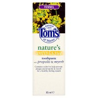 Tom's anitplaque fennel toothpaste