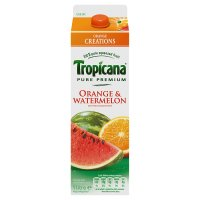 Tropicana orange & watermelon juice