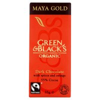 Green & Black's Organic maya gold dark chocolate