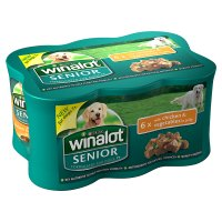 Winalot senior chicken & vegetables in jelly