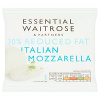 essential Waitrose Italian light Mozzarella