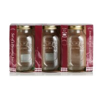 Kilner 1 litre preserve jar, set of 3