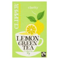 Clipper 25 lemon & green tea