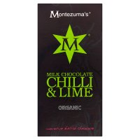 Montezuma's Organic milk chocolate with chilli & lime