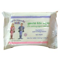 Earth Friendly Baby Organic gentle kids wipes