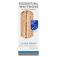 essential Waitrose MSC tuna mayonnaise sandwich