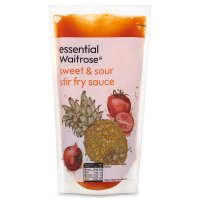 essential Waitrose sweet & sour stir fry sauce