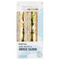 Waitrose Good To Go egg & smoked salmon sandwich