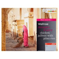 Waitrose chicken jalfrezi with pilau rice