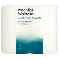 essential Waitrose Kitchen Towels