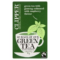 Clipper Green Tea with Ginseng