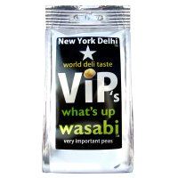 New York Delhi ViP's what's up wasabi