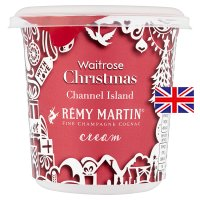 Waitrose Channel Island Remy Martin brandy cream
