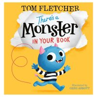 There's a Monster in My Book Tom Fletcher