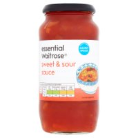 essential Waitrose sweet & sour sauce