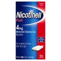 Nicotinell fruit chewing gum, 4mg