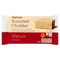 Waitrose Farmhouse Cheddar Strength 5 Mature