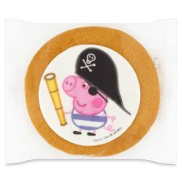 Gingerbread George pirate pig
