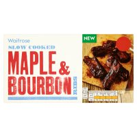 Waitrose Maple & Bourbon Ribs