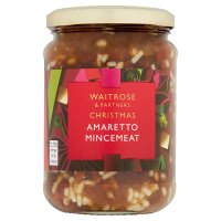 Waitrose Christmas Amaretto Mincemeat