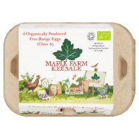 Maple Farm Organic free range eggs