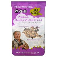 Bill Oddie's premium really wild bird food