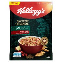 Kellogg's Ancient Legends Muesli Quinoa & Chia Seeds