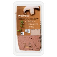 Waitrose chicken forestier pâté