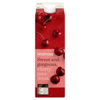 Waitrose cherry juice drink