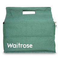 Waitrose jute bag insulated