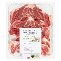 essential Waitrose British stewing lamb