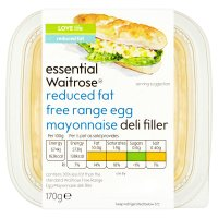 essential Waitrose reduced fat egg mayonnaise filler