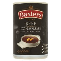 Baxters luxury beef consommé