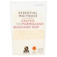 essential Waitrose grated Parmigiano Reggiano cheese